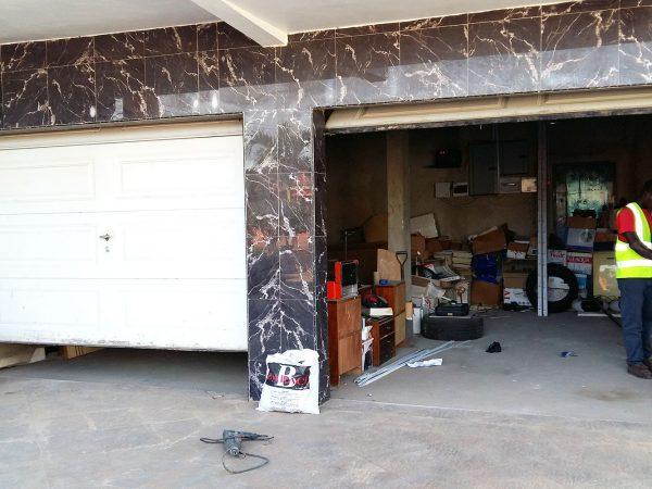 Remote garage door