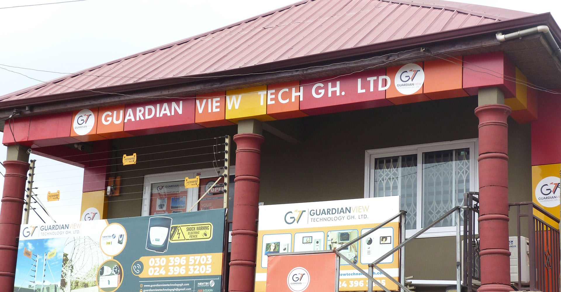 CCTV, Electric fence, main gate automation company in Ghana